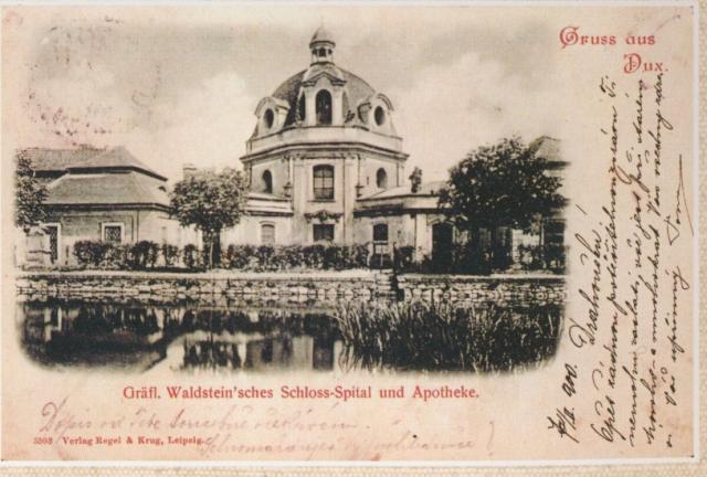 Špitální kaple Duchcov, foto archiv