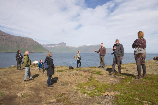At the Nature and Heritage Center Skálanes. Photo: Lisa Paland, 2015.