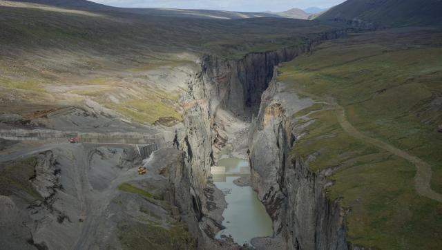 Hydroelektrárna Kárahnjúkar, Island, foto: Julia Martin