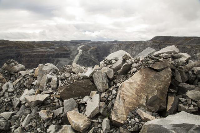 The Sydvaranger mine, Finnmark, photo: Iselin Lindstad
