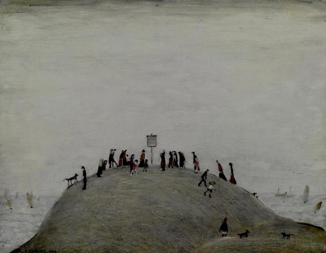 Laurence Stephen Lowry, The Notice Board