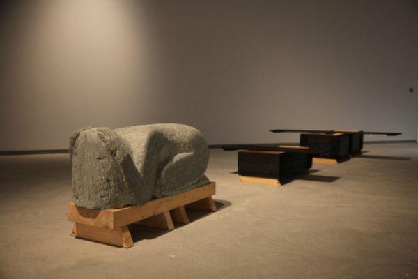 Gimme Shelter, Aage Gaup, 2004, installation view SDG - Sámi Dáiddaguovddáš