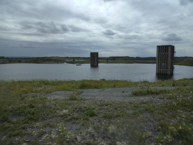 Odkaliště elektrárny Počerady, 2015, foto: Frontiers of Solitude