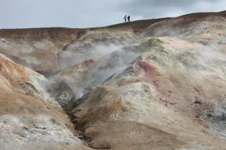 Víti crater, Iceland, August 2015. Photo: Diana Winklerová, 2015.