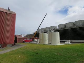 Krafla geothermal power station, Iceland, August 2015. Photo: Diana Winklerová, 2015.