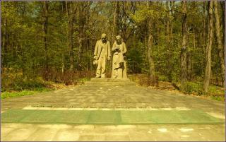 Památník tragédie na dolu Nelson