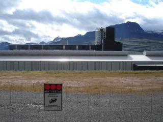 Alcoa Fjarðaál Aluminium Smelter. Photo: Julia Martin, 2011.