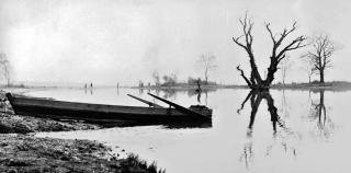 Dřínovské jezero, 1966, foto Stanislav Krčka