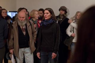 Opening, Julia Martin, photo Dominik Žižka