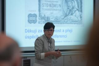 prof. Ing. Iva Rittschelová, CSc, foto Jáchym Myslivec