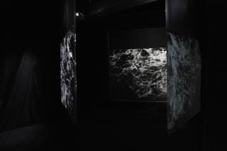 Steina Vasulka, Orka, installation view, Jáchym Myslivec