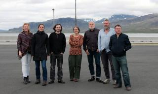 Iceland expedition group, August 2015. Photo: Lisa Paland, 2015.