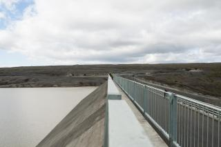 At Kárahnjúkar hydroelectric dam. Photo: Lisa Paland, 2015.