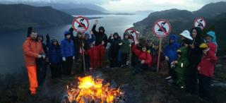 Against Tailings for the Fjords, photo: The Arctic Journal