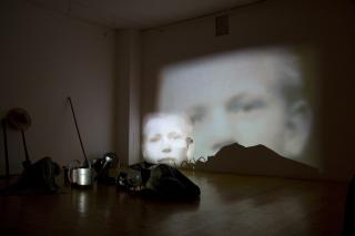 Miloš Šejn and Handa Gote: Harvesting, Raking in Sounds and Composting Pictures, 2009, photo: Archive of the artist