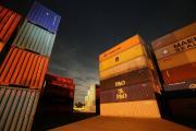 container terminal ilustrační foto