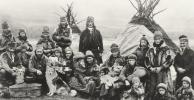 Sami people, 1920, archive