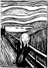 Edvard Munch: Scream, LItography